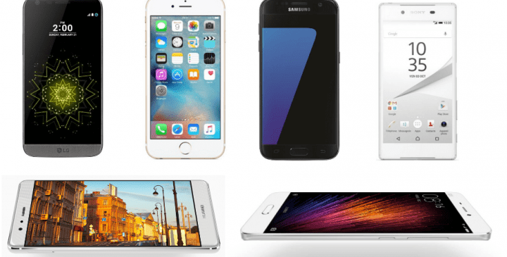 Comparativa: Huawei P9 vs Galaxy S7 vs LG G5 vs iPhone 6s vs Xiaomi Mi5 vs Xperia Z5