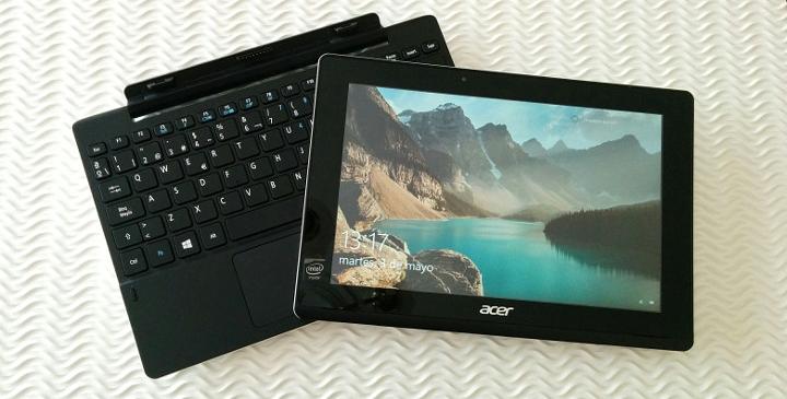Review: Acer Aspire Switch 10 E, una tablet 2 en 1 con la potencia de Windows 10