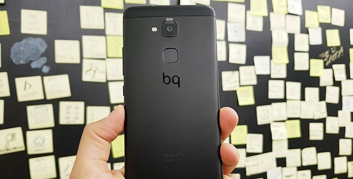 Review: BQ Aquaris V, un móvil de gama media bueno, bonito y barato
