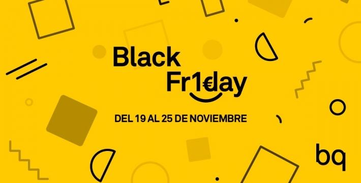 BQ ofrecerá smartphones a 1 euro en el Black Friday