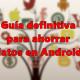 La guía definitiva para ahorrar datos en Android