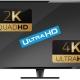 ¿Qué es 4K, 2K o Ultra HD?
