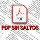 Cómo copiar texto PDF sin saltos