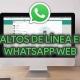 Cómo hacer un salto de línea en WhatsApp Web