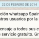 WhatsApp vuelve a funcionar mientras Telegram consigue 100 usuarios por segundo