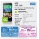 Precios del HTC One M8 y Sony Xperia Z2 con Yoigo