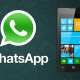 WhatsApp 2.16.44 para Windows Phone mejora la interfaz