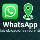 WhatsApp para Android mostrará las ubicaciones recientes compartidas en los chats grupales