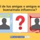 ¿Cuál de tus amigas o amigos es una buena/mala influencia? Nueva app viral en Facebook