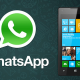 Descarga WhatsApp para Windows Phone con nuevas funcionalidades
