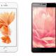 5 smartphones de color rosa