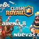 Clash Royale se actualiza con torneos, nueva arena y cuatro cartas extra
