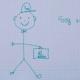 Nico, el dibujo que ha recorrido el mundo, se hace viral