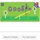 Google dedica un Doodle al 140 aniversario de Wimbledon