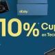 10% de descuento en móviles y electrónica en eBay