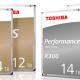 N300 y X300, los nuevos discos duros de Toshiba de alto rendimiento y sellado de helio
