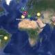 Google publica un mapa del alcance del coronavirus
