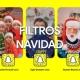 Prueba los filtros nuevos navideños de Snapchat, incluso en las videollamadas en PC