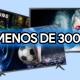 6 mejores televisores por menos de 300 euros